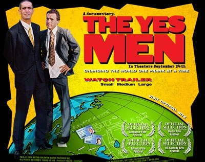 Culture Jamming heroes The Yes Men release their doco free online image