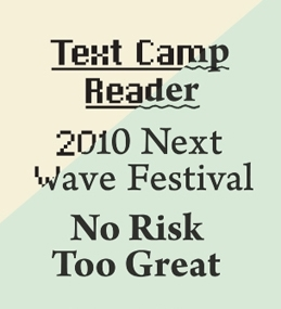 Experimental Writing on Art: Text Camp Reader 2010 image