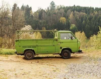 Gruner VW-Transporter image