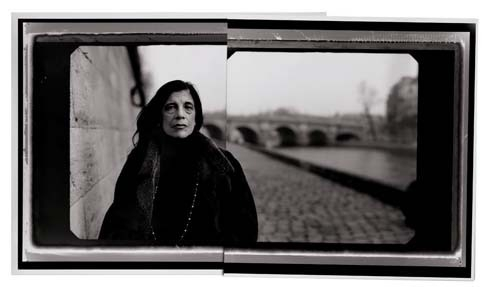 Susan Sontag, Quai des Grands Augustins, Paris, 2002 chromogenic print image