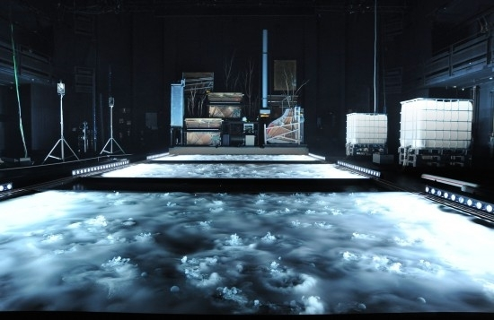 Stifters Dinge, a magical, mechanised AV theatre performance image