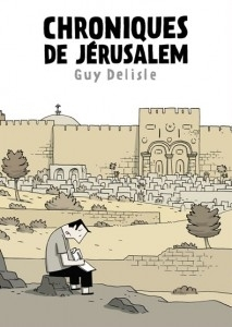 Guy Delisle's Chronicles de Jerusalem wins the Fauve d'Or award for best comic image
