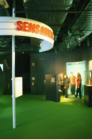 The flip book booth in Screen Worlds image