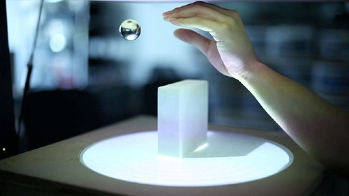 Interact with a computer using Levitation as the medium image