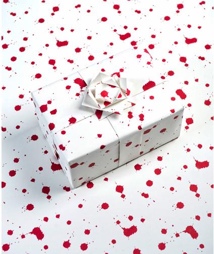 Megan Herbert's discerning wrapping paper image
