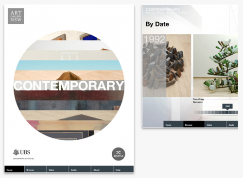 Art Gallery of New South Wales launches an IPad App image