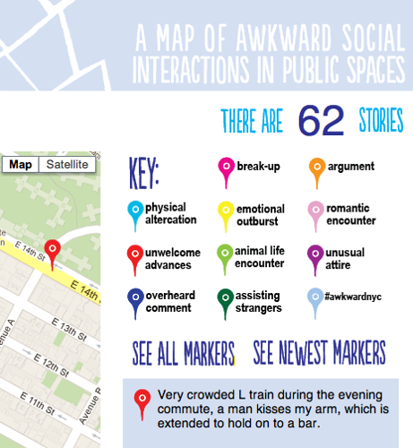 New Turbulence commission maps awkward social interactions in public spaces image