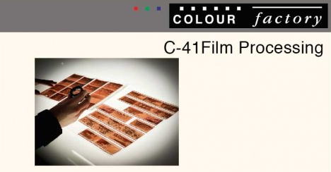 Film processing now available at Colour Factory image
