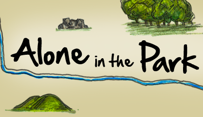 Alone in the Park narrative adventure game now available image