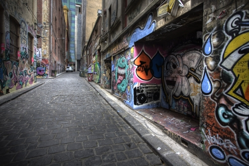 Hosier and Rutledge Lanes to be repainted image