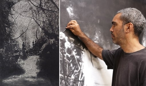 Daniel Boyd is the 2014 BVLGARI ART AWARD recipient image