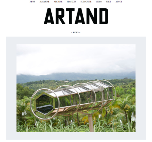 ARTAND Australia launches dynamic online platform and moves to larger format, bi-annual print publications  image