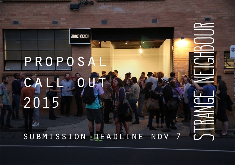 2015 EXHIBITION PROPOSAL CALLOUT image