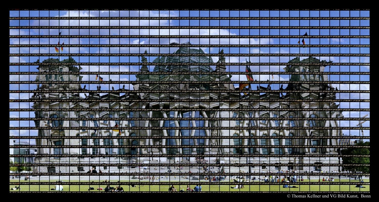 Thomas Kellner 56#04 Berlin, Reichstag 2007 / 2014, C-Print, 136x69,7 / 53,2