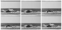Ashleigh Garwood,'Six Views of a Wave' 2015 image