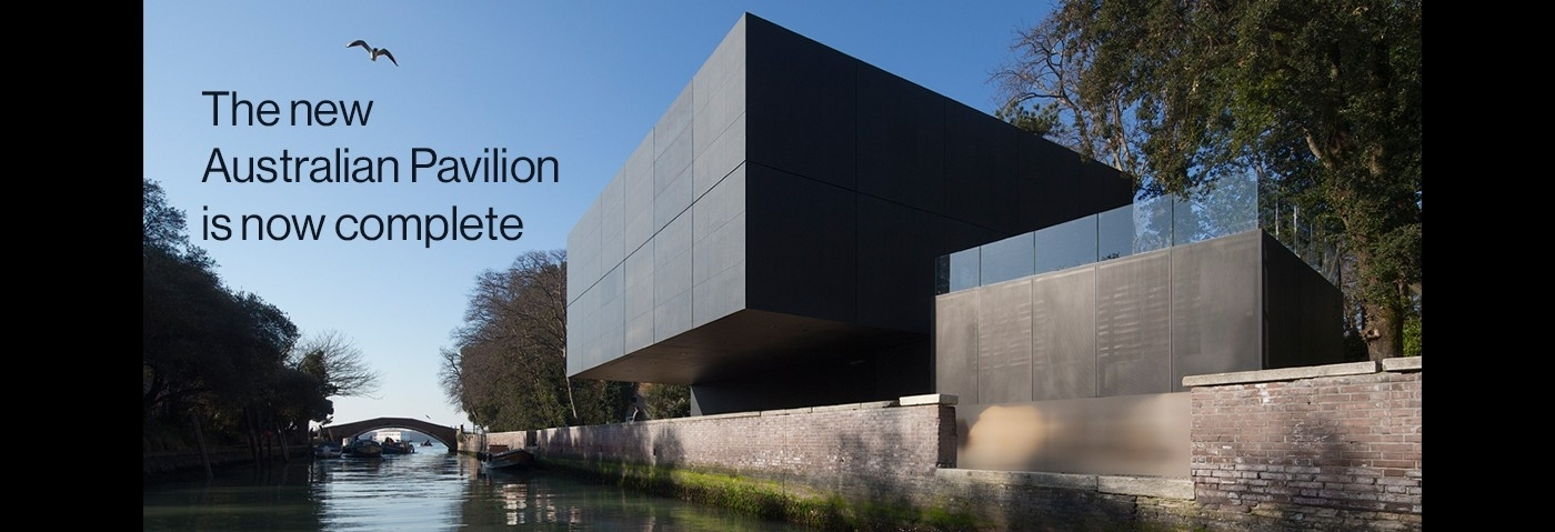 The new Australian Pavilion at the Venice Biennale is now complete image