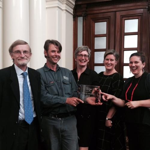 Heide wins Excellence Award in Volunteer Management image