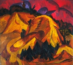 MoMA Restitutes Ernst Ludwig Kirchner's Sand Hills In Engadine to the Heirs of Max Fischer image