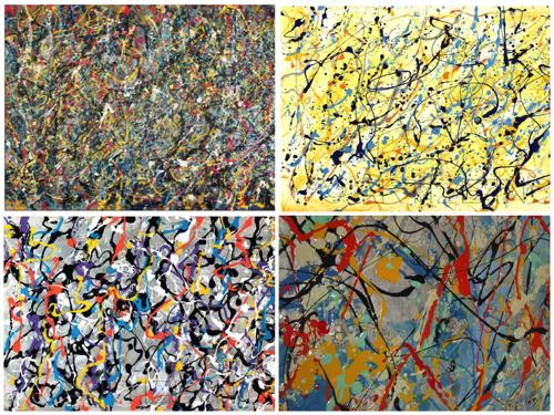 Purported Jackson Pollock Paintings  image