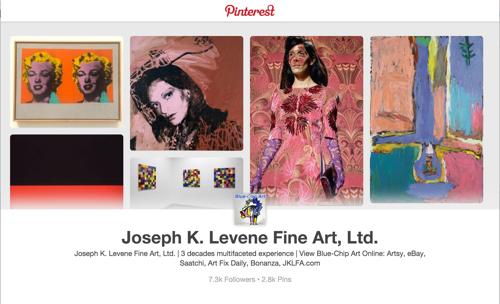 Follow Art Pins from Joseph K. Levene Fine Art, Ltd. on Pinterest image