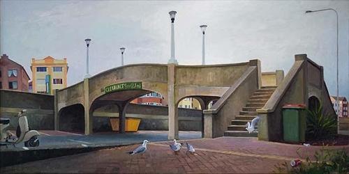 Kevin McKay, 'Pedestrian Bridge, Bondi' 2015 image