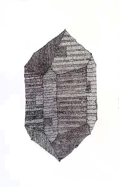 Al Munro, 'Choc Brown Mineral Crystal' 2012  image