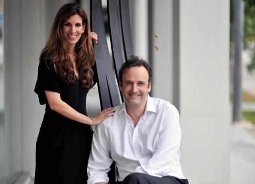 Carole and Founder Frédéric de Senarclens image