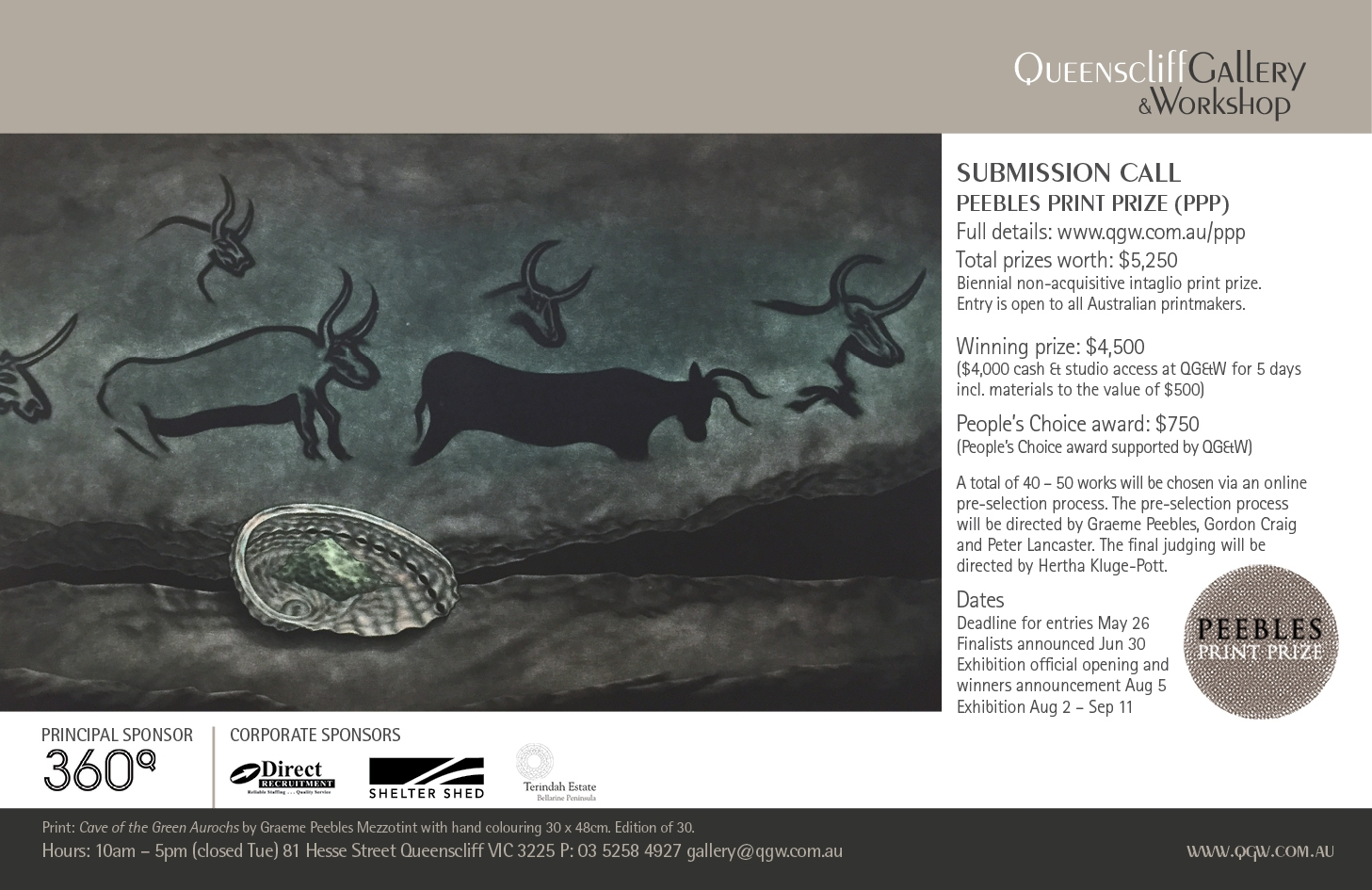 QG&W Peebles Print Prize (PPP) image