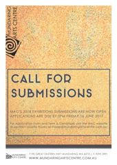 Call for Submissions 2018 image