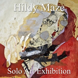 Hildy Maze Awarded a Solo Art Exhibition image