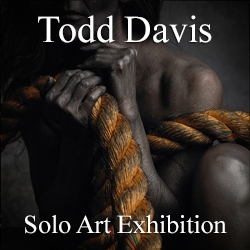 Todd Davis Awarded a Solo Art Exhibition image