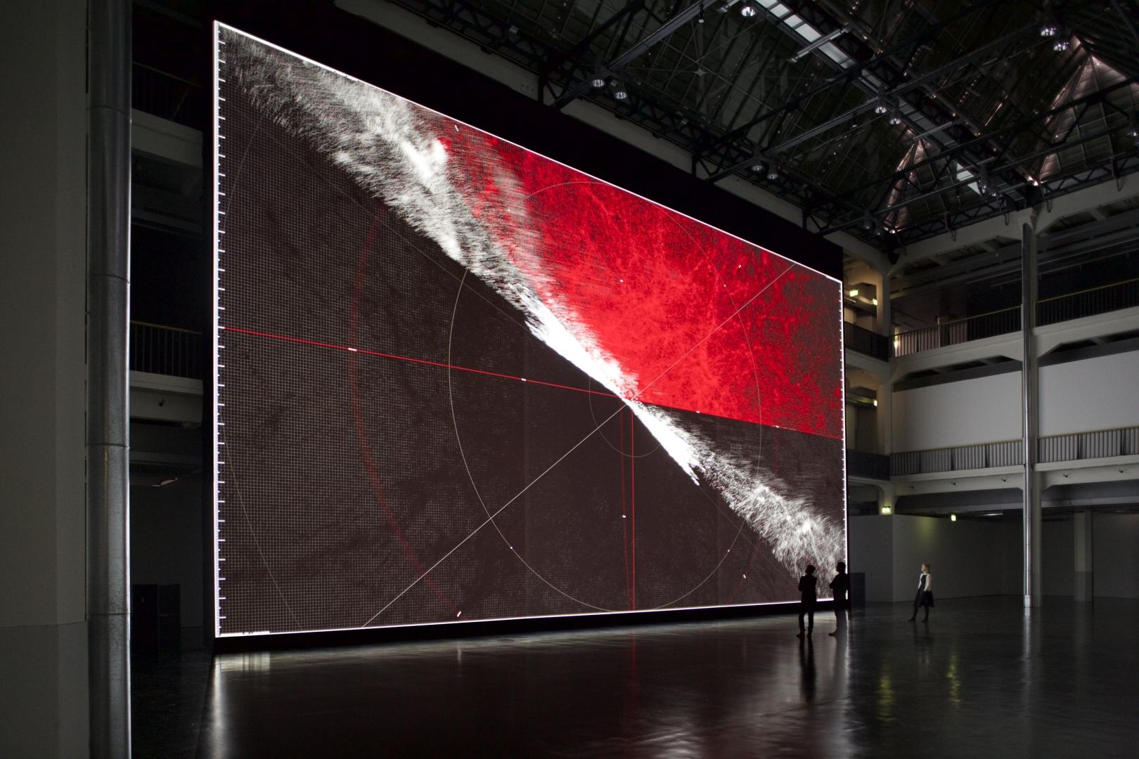 Ryoji Ikeda, the planck universe [macro], 2015 Image Martin Wagenhan Courtesy of ZKM  Karlsruhe  image