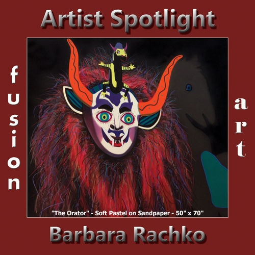 Barbara Rachko is Fusion Art's Traditional Artist Spotlight Winner for October 2018 image