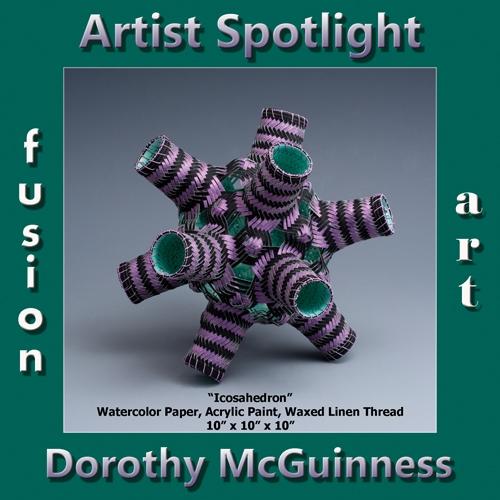 Dorothy McGuinness is Fusion Art's 3-Dimensional Artist Spotlight Winner for October 2018 image