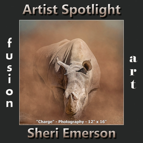 Sheri Emerson is Fusion Art's Digital & Photography Artist Spotlight Winner for December 2018 image