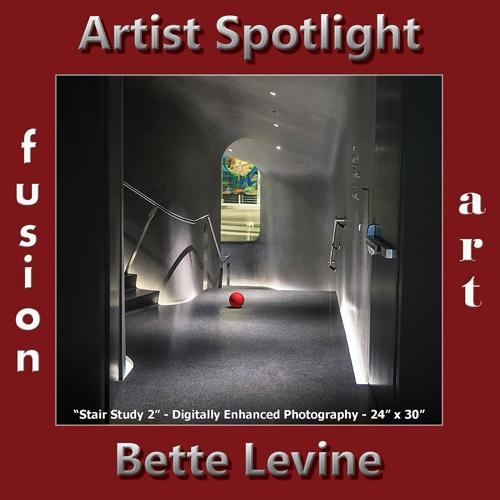 Bette Levine is Fusion Art's Digital & Photography Artist Spotlight Winner for January 2019 image