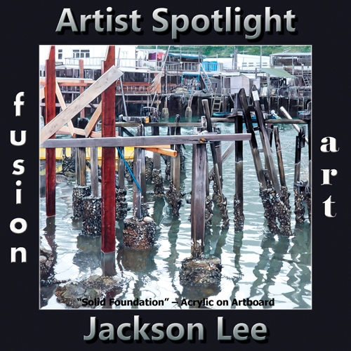 Jackson Lee is Fusion Art's Traditional Artist Spotlight Winner for April 2019 image