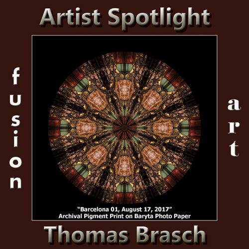 Thomas Brasch is Fusion Art's Digital & Photography Artist Spotlight Winner for April 2019 image