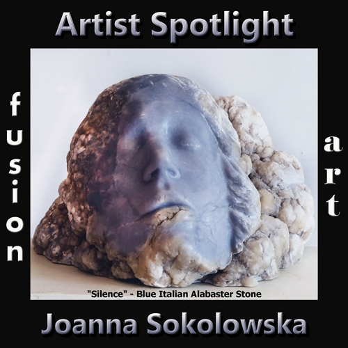 Joanna Sokolowska is Fusion Art's 3-Dimensional Artist Spotlight Winner for April 2019 image