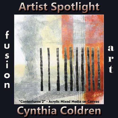 Cynthia Coldren is Fusion Art's Traditional Artist Spotlight Winner for May 2019 image