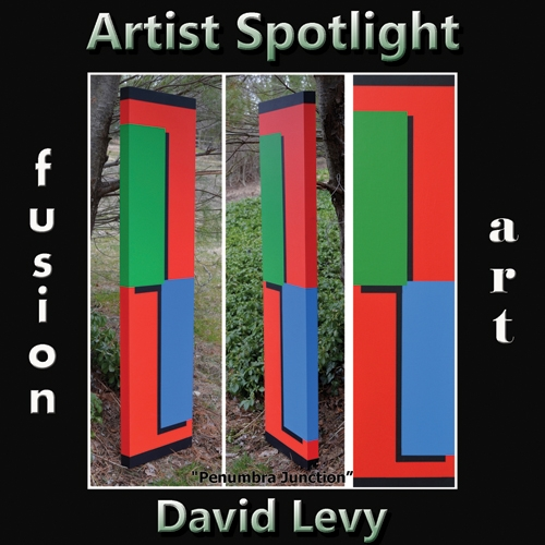 David Levy is Fusion Art's 3-Dimensional Artist Spotlight Winner for May 2019 image