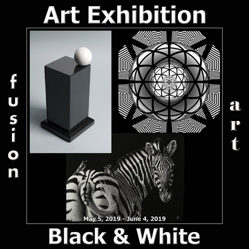Fusion Art Announces the Winners of the 3rd Annual Black & White Art Exhibition image