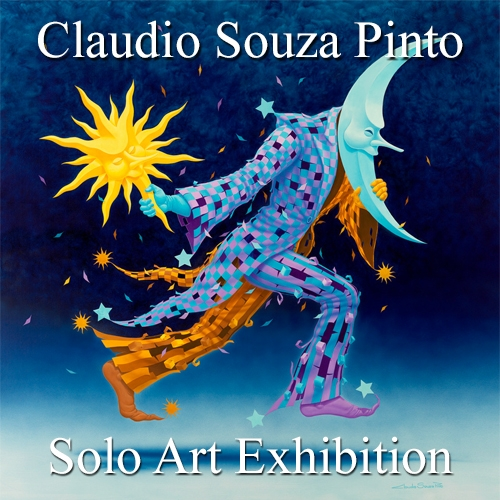 Claudio Souza Pinto is Awarded a Solo Art Exhibition image