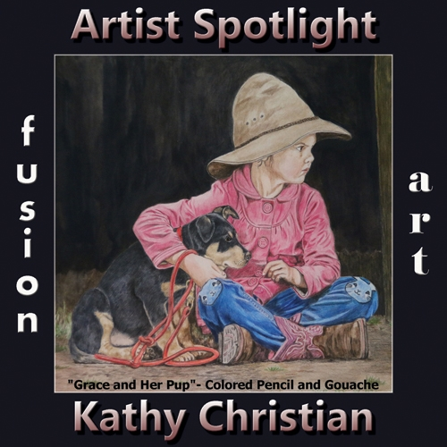 Kathy Christian is Fusion Art's Traditional Artist Spotlight Winner for June 2019 image