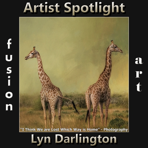 Lyn Darlington is Fusion Art's Digital & Photography Artist Spotlight Winner for June 2019 image