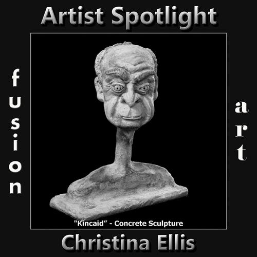 Christina Ellis is Fusion Art's 3-Dimensional Artist Spotlight Winner for June 2019 image