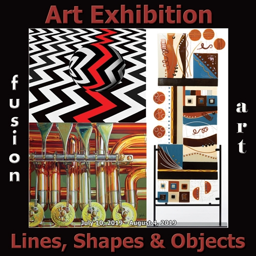 Fusion Art Announces the Winners of the Lines, Shapes & Objects Art Exhibition image