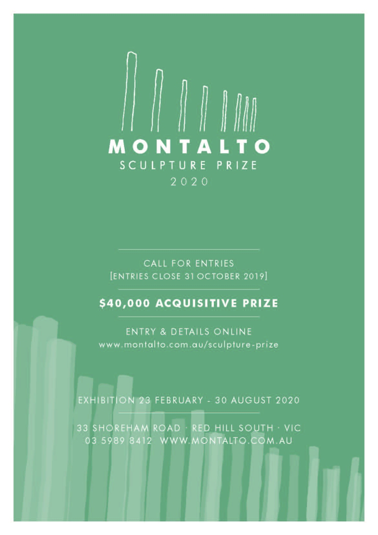 2019 Montalto Sculpture Prize - entry now open image