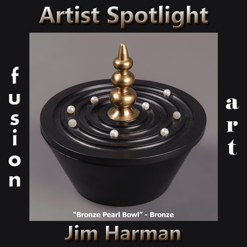 Jim Harman is Fusion Art's 3-Dimensional Artist Spotlight Winner for July 2019 image