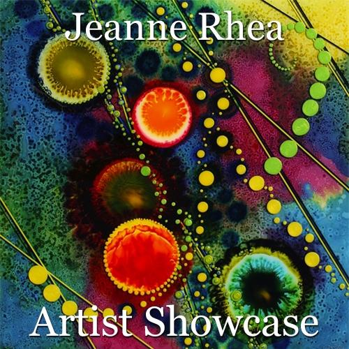 Jeanne Rhea is Awarded an Artist Showcase Feature image